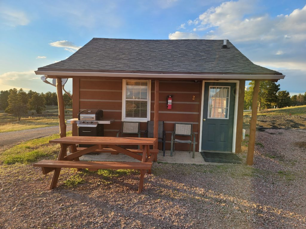 Empire Lodge Cabin 2 in Pine Haven Wyoming