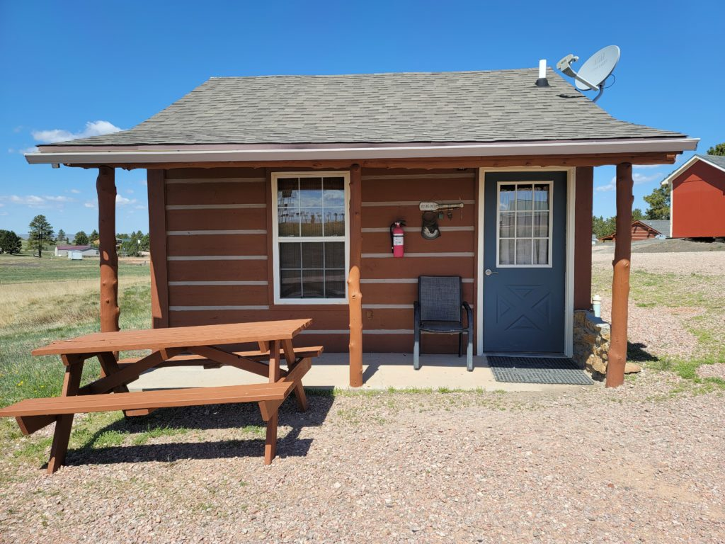 Empire Lodge Cabin 1 in Pine Haven Wyoming